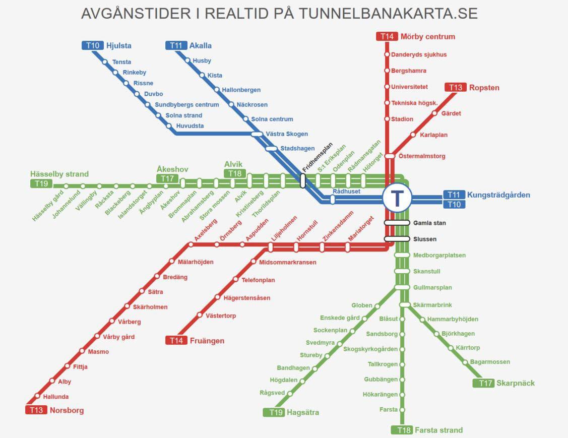 Metropolitana di Stoccolma
